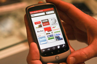 Opera Mini on iPhone demoed, and unlikely to see the light of day