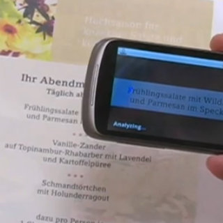 VIDEO: Google Goggles mobile translation demoed