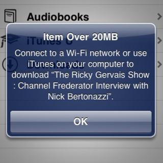 iPhone's 3G download limit upped