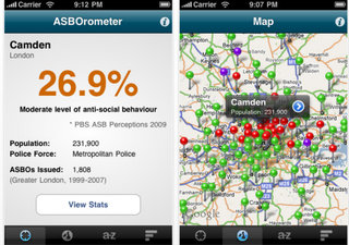 ASBOrometer app launches for the iPhone and Android