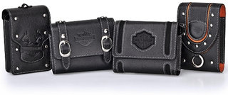 Olympus teams with Harley Davidson for studded camera cases