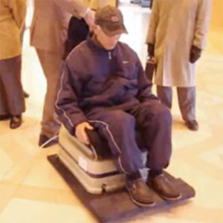 VIDEO: Japanese pensioners get levitating chair