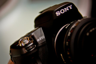 Sony Alpha 450 hands-on