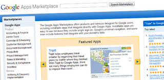 Businesses get Google Apps Marketplace