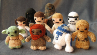 Star Wars fan crochets Amigurumis
