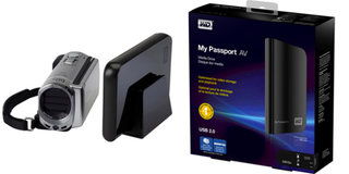Western Digital My Passport AV Portable Media Drives come TV ready