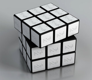The Colour Rubik's Cube For The Blind