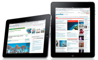 Apple says UK iPad owners read The Guardian