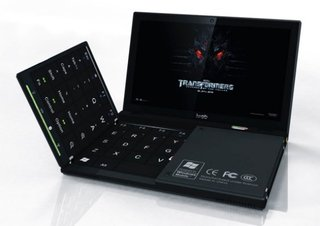 Future laptop brings fold out keyboard to the party