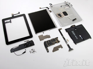 iPad taken apart and beaten on launch day