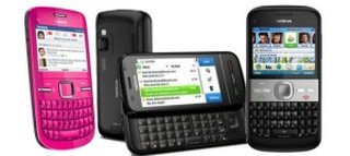 Nokia C3, C6 and E5 phones keep it social
