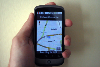 Navigation activated on UK Android phones