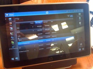 HP's Windows 7 tablet cancelled?