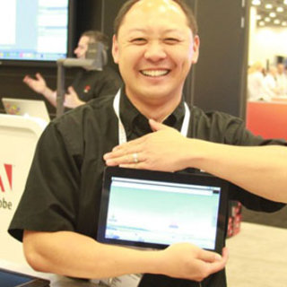 VIDEO: Adobe Android tablet gets public airing