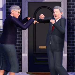 Even The Sims get election fever