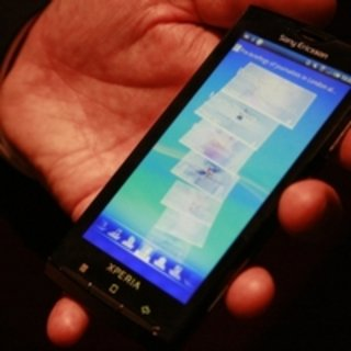 Sony Ericsson X10 Android update dated