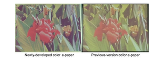Fujitsu to demonstrate improved e-paper
