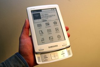 Samsung SNE-60 ebook reader on its way