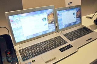 Samsung Q330, Q430 and Q530 slim notebooks out in July