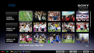 World Cup fever hits Sony Bravia screens