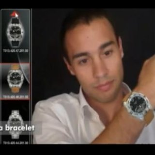 Virtually try on Tissot's T-Touch watches at Selfridges