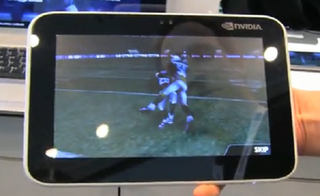 Nvidia shows off Tegra 2 Android tablet