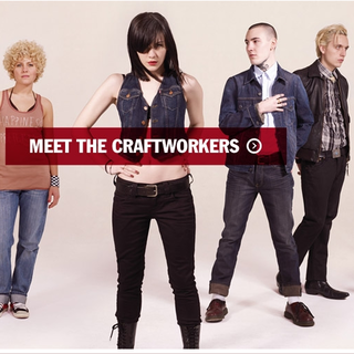 WEBSITE OF THE DAY - Levi's Craftwork