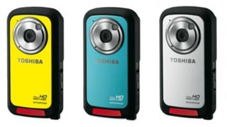 Toshiba Camileo BW10 all-action HD camcorder