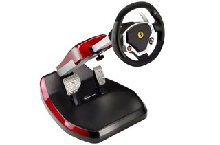 Thrustmaster replicates Ferrari cockpit