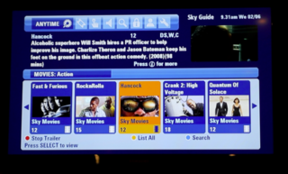 Sky Anytime Plus adds video on demand service to Sky HD