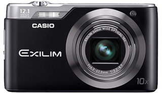 Casio Exilm EX-H5 and EX-FH25 cameras zoom into view