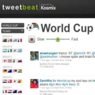 Keep up with the World Cup pulse using TweetBeat