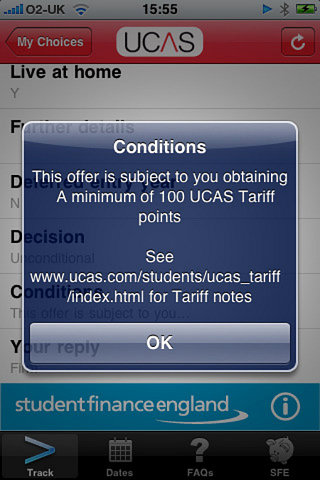 APP OF THE DAY - UCAS for iPhone