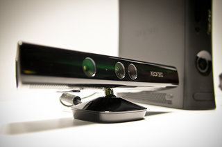 Microsoft Kinect for Xbox 360 hands off