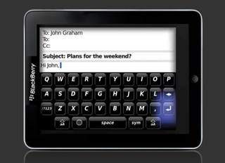 RIM readying BlackBerry tablet