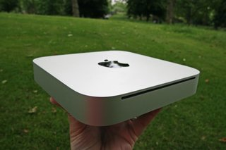 Apple Mac mini slims down