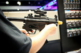 Heckler and Koch MP5 Wii gun for the NRA member you know