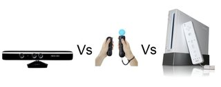 Microsoft Kinect vs PlayStation Move vs Nintendo Wii