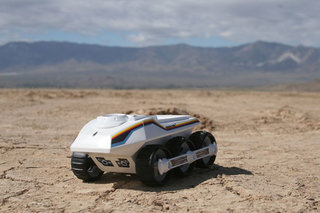 Bigtrak Jnr lifts off - literally
