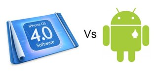iOS 4 vs Android 2.2 - Fight