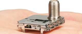 "Sharp shows off ""world's smallest"" TV tuner"