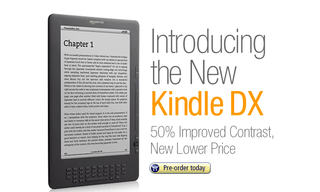 New Amazon Kindle DX: Sharper screen, sharper price