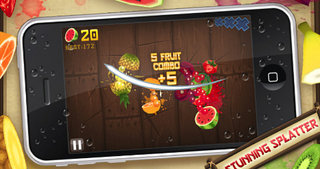 APP OF THE DAY - Fruit Ninja