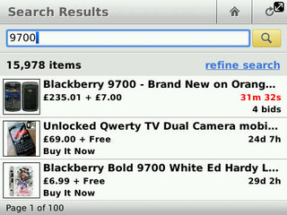 APP OF THE DAY - eBay (BlackBerry)