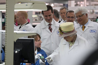 The Queen tours RIM, but what is she thinking?