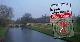 Geek Weekend: Cambridge