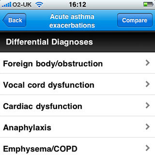 APP OF THE DAY - Differential diagnosis DDX (iPhone/iPad)