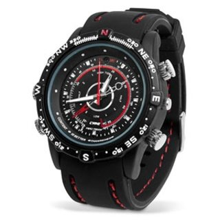 Unleash your inner 007 with the Waterproof Video Spy Watch