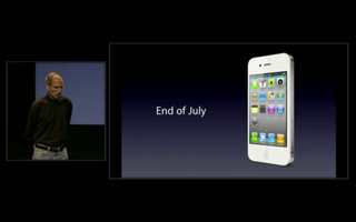 White iPhone 4 landing in days