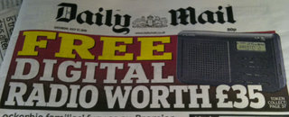 Daily Mail free DAB radio, that's not so free